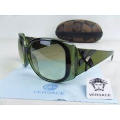 Versace Gorgeous Green Square Face Sunglasses- replica or not--these are cute!! and cheap :)