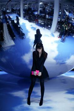 pedalfar:  The adorabubble Dior Show | Le Blog de Betty