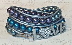 Hey, I found this really awesome Etsy listing at https://www.etsy.com/listing/212348231/swarovski-pearl-wrap-bracelet-love