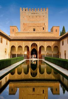 Secret Gardens, Hidden Courtyards: The Alhambra, Grenada, Spain    I have been privileged enough to visit here.  It was amazing!