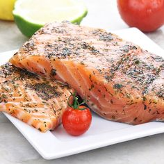 2 x 8-9oz Fresh Salmon Fillets & Mixed Herbs Buy Fish Online from Muscle Food - Our delicious clean marinated aren't packed full with added sugar like your standard supermarket sauces. We've managed to add flavour without adding to your macros!