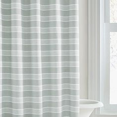 Truly Soft Marcello Shower Curtain In Coral