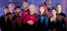 The crew of Enterprise NCC-1701-D.