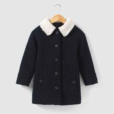 Manteau long en bouclette 3-12 ans abcd'R