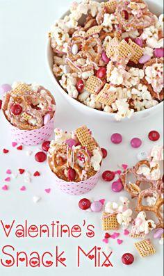 Valentine's Snack Mix....