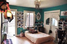 bedroom*turquoise