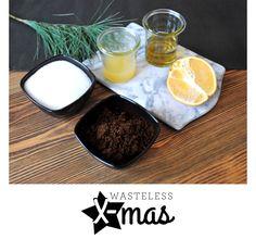 #ZeroWaste & #DIY Peeling with coffee, orangejuice and sugar/salt