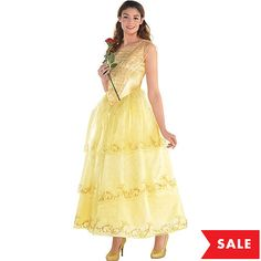 645a09f5d Adult Belle Costume - Live Action Beauty and the Beast
