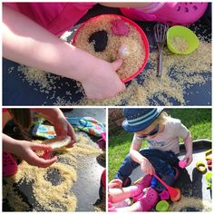 Baking Fun in a Tuff Spot 3 Tuff Tray Ideas Toddlers, Tuff Spot, Baked Goods, Activities, Baking, Fun, Emerson, Board, Activities For Kids
