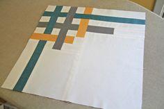 Modern Block of the Month (BOM) ~ Feb. Sew-Along | Sew Mama Sew