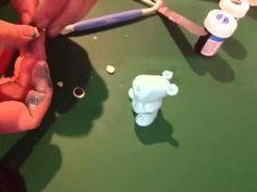 Sugar paste hippo