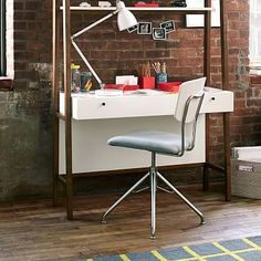 west elm's modern desk chairs combine style and function. Find modern home office chairs that coordinate with our contemporary home office desks. Swivel Office Chair, Desk Chairs, Furniture Sale, Modern Furniture, Little Houses, Home Furnishings, Home Office, Family Room, New Homes