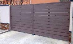 """Képtalálat a következőre: """"deszka kerítés"""" Garage Doors, Outdoor Decor, Home Decor, Homemade Home Decor, Interior Design, Home Interiors, Decoration Home, Home Decoration, Home Improvement"""