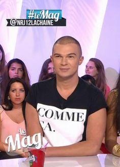 T-shirt avec inscription «Comme ça» de Nicolas Touderte #LeMag