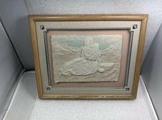 "$25 2020 FIGI Graphics Southwest Navajo Pueblo "" Priscilla"" 3D Wet Cast Paper Art Signed | #2740274822"
