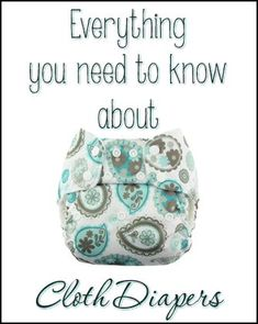 ALL of my cloth diaper posts in one easy to read list! Info, tips, tricks, how to, DIY, and reviews! #clothdiapers