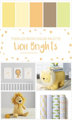 Yellow and green gender neutral toddler room decor nursery d Primary Color Nursery, Neutral Nursery Colors, Baby Room Colors, Baby Boy Nursery Themes, Yellow Nursery, Baby Boy Rooms, Baby Decor, Nursery Decor, Neutral Nurseries