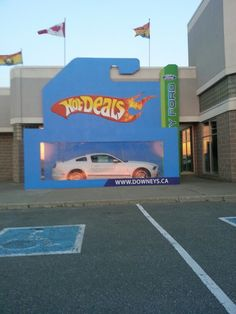 Downey Ford! This is amazingly clever :) ★ definitely a fantastic marketing idea for all of us who enjoyed Hotwheels! !