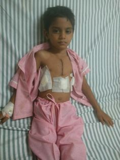 Narayan Seva Successfully Operated Divyansh from Heart Hole Disease. This 4 years old child is from Pali Distt. Rajasthan. His father was not in the financial condition to give him expensive treatments. Thus Narayan Seva help them and now this child is hale and hearty. #helpothers #socialservice #sucessstories