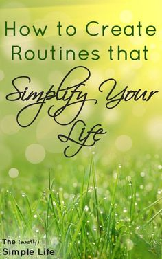 5 routines you need in your life | How to create routines that simplify your life | Morning routine | Exercise Routine | Why routines are important