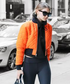 Gigi Hadid's athleisure game is so strong!