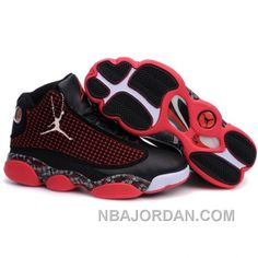 499cfe85b898 AIR JORDAN RETRO 13S SHOES IN RED BLACK Only  75.00