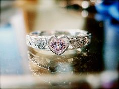 """""""this is my purity ring! only i have a soft blue gem instead of a pink one <3"""""""
