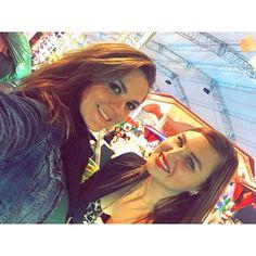 Zoraida Gomez (Jose Lujan) y Estefania Villarreal (Celina) #Rebelde #2015