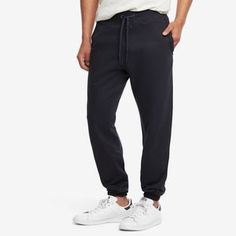 French Terry Sweatpant, Officer's Blue