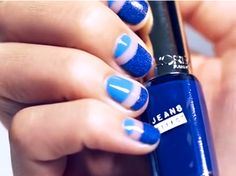 Weekend Manicure Inspiration: The Negative Space Manicure Anyone Can Create