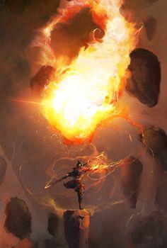 68 Best Ideas For Dark Fantasy Art Character Inspiration Artworks Dark Fantasy, Fantasy World, Character Concept, Character Art, Concept Art, Digital Painter, Digital Art, Avatar The Last Airbender Art, Fantasy Artwork