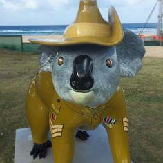 ANZAC Day preparations.  #Anzac #anzacday #currumbin #currumbinbeach #beach #surf #ocean #goldcoast by traceywood_ http://ift.tt/1X9mXhV