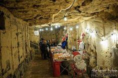 Belgium Christmas Markets: Sweet treats in the Grottes de Wonck