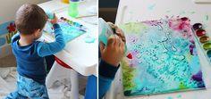 Úžasné maľovanie s vodovkami, lepidlom a soľou | Zepire | Handmade na predaj