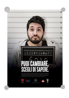 Disinformati - Socially Correct   ADV Campaign   by Eugenio De Riso, via Behance