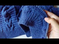 Crochet Coat, Crochet Designs, Fingerless Gloves, Arm Warmers, Youtube, Knitting, Style, Fashion, Amor