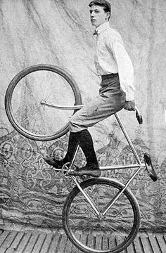 Vintage fixie hipster.  This is another photo showing how cycling is amazing, cool and fun
