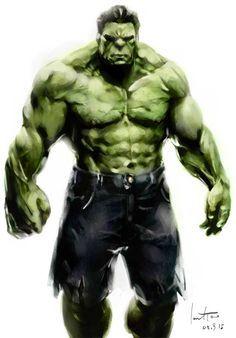 hulk by JarodTao on deviantART