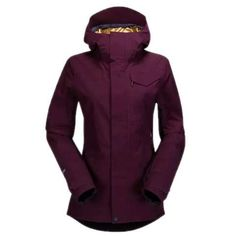 Check out the Volcom Rate Insulated GORE-TEX® Jacket - Women's  on USOUTDOOR.com Burgundy