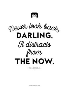 The Incredibles Edna Mode Never Look Back Darling instant image 1 Girly Quotes, Some Quotes, Disney Quotes, Words Quotes, Wise Words, Best Quotes, Sayings, Sassy Quotes, Favorite Quotes