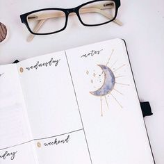 Inspired again by the lovely for this week's little moon. I spent a ton of time on my trackers for this month (still not… Bullet Journal Tracker, Bullet Journal Hacks, Bullet Journal How To Start A, Journal 3, Bullet Journals, Journal Ideas, Letter Art, Letters, Doodle Lettering