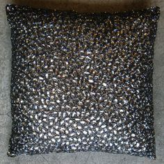 """Image of jewel pillow - 20""""x20"""""""