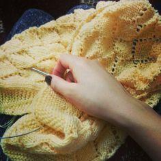 Crohet baby blanket