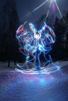 Janne Parviainen, Light Painting