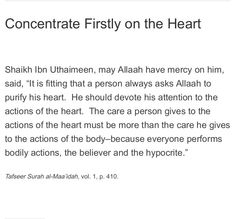 Concentrate firstly on the heart  Read more here: http://giftsofknowledge.net/