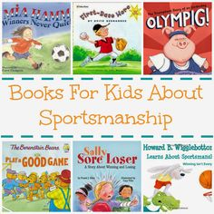 Books to Teach Little Kids about Sportsmanship
