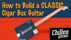 how to make a cigar box guitar - YouTube