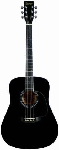 The Lauren LA125 is an exceptional, bright toned dreadnought acoustic guitar! Agathis top, back and sides. Plank-style machines. Nickel/silver frets. Maple fingerboard. Black body binding. Unbelievabl