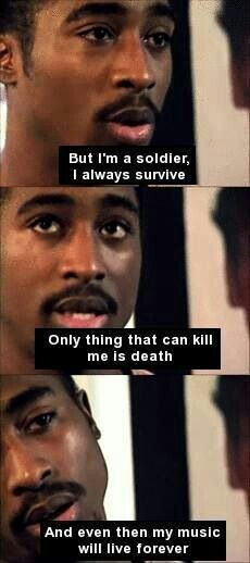 Well, he wasn't wrong....♡ Rest in Peace Pac