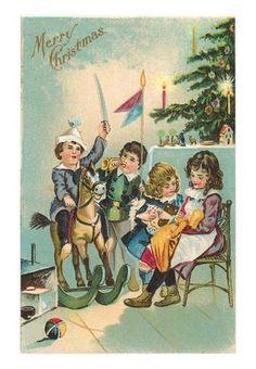 Hiver et Noel cartes postales et images anciennes